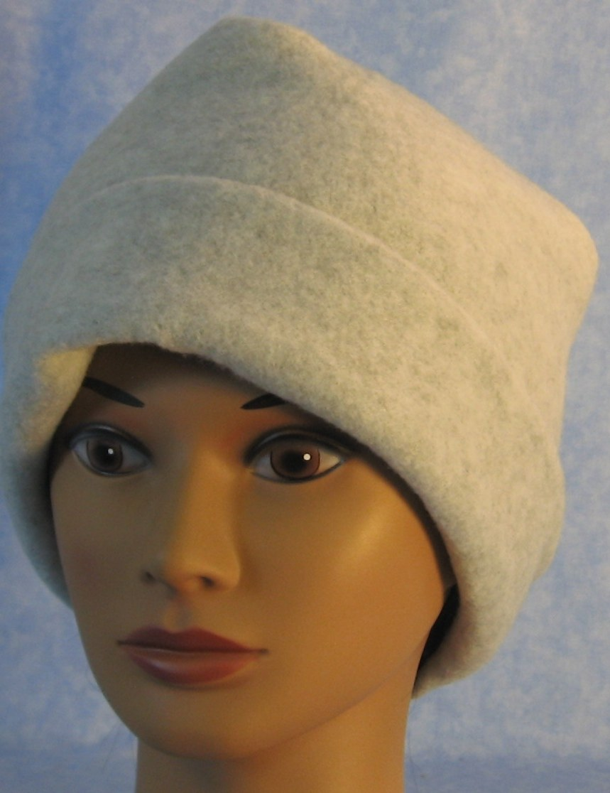 Long Hat in Light Gray-Adult 2XL