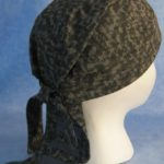 Do Rag in Gray Speckle Camo with Gray Tail - Adult - side