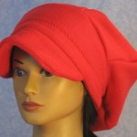 Newsboy in Red - front left gal