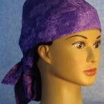 DH Hair Bag in Purple Splotchy