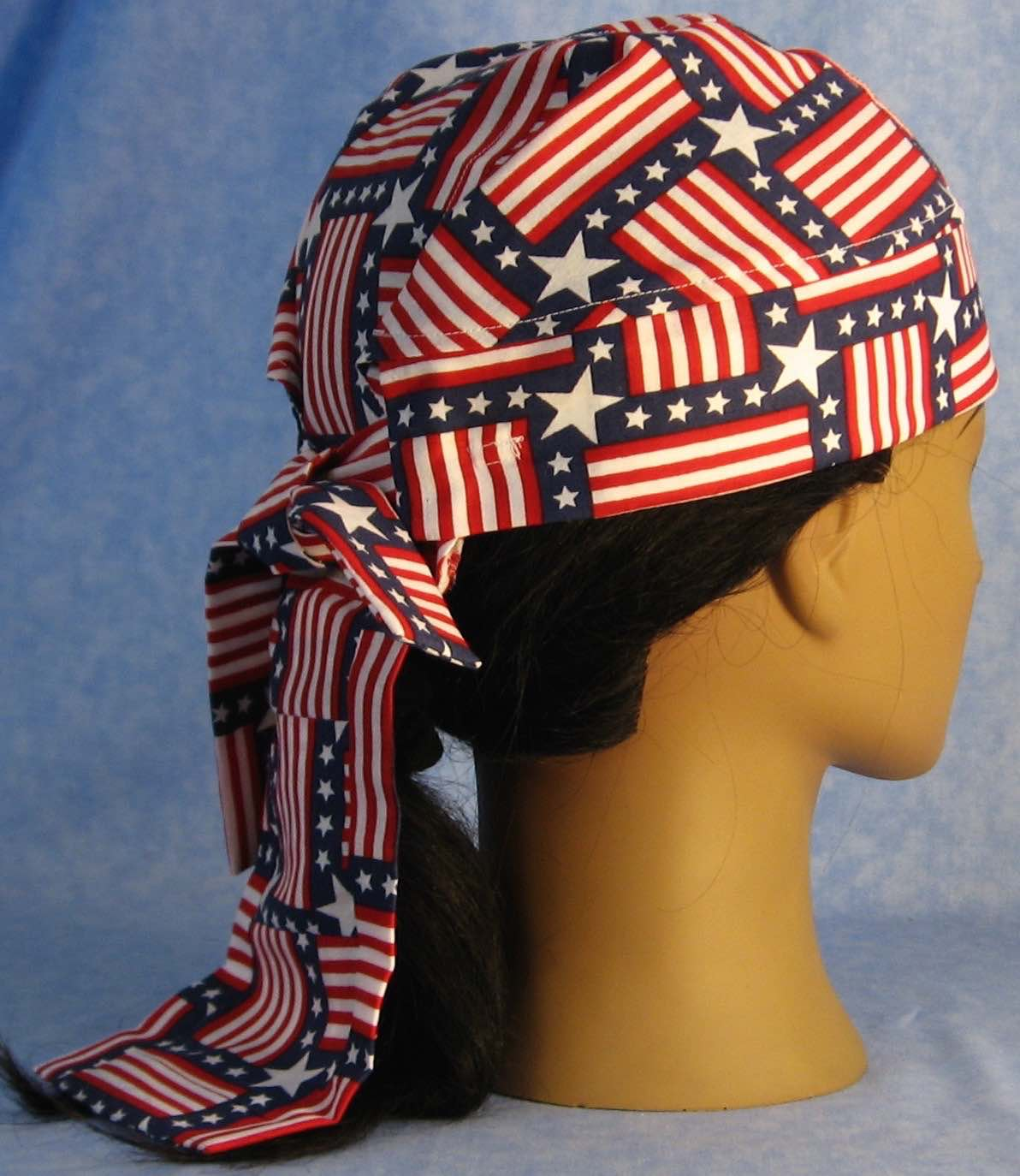 Do Rag in Square Flags-Adult 3XL-5XL