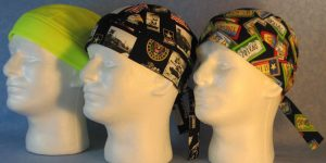 Scrub Caps with Ties