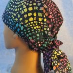 Deanna's Custom Batik Hair Stocking