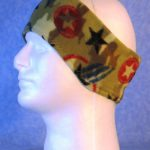 Ear Warmer in Star Camo - left