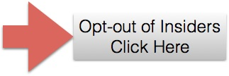 Opt-out of Insiders