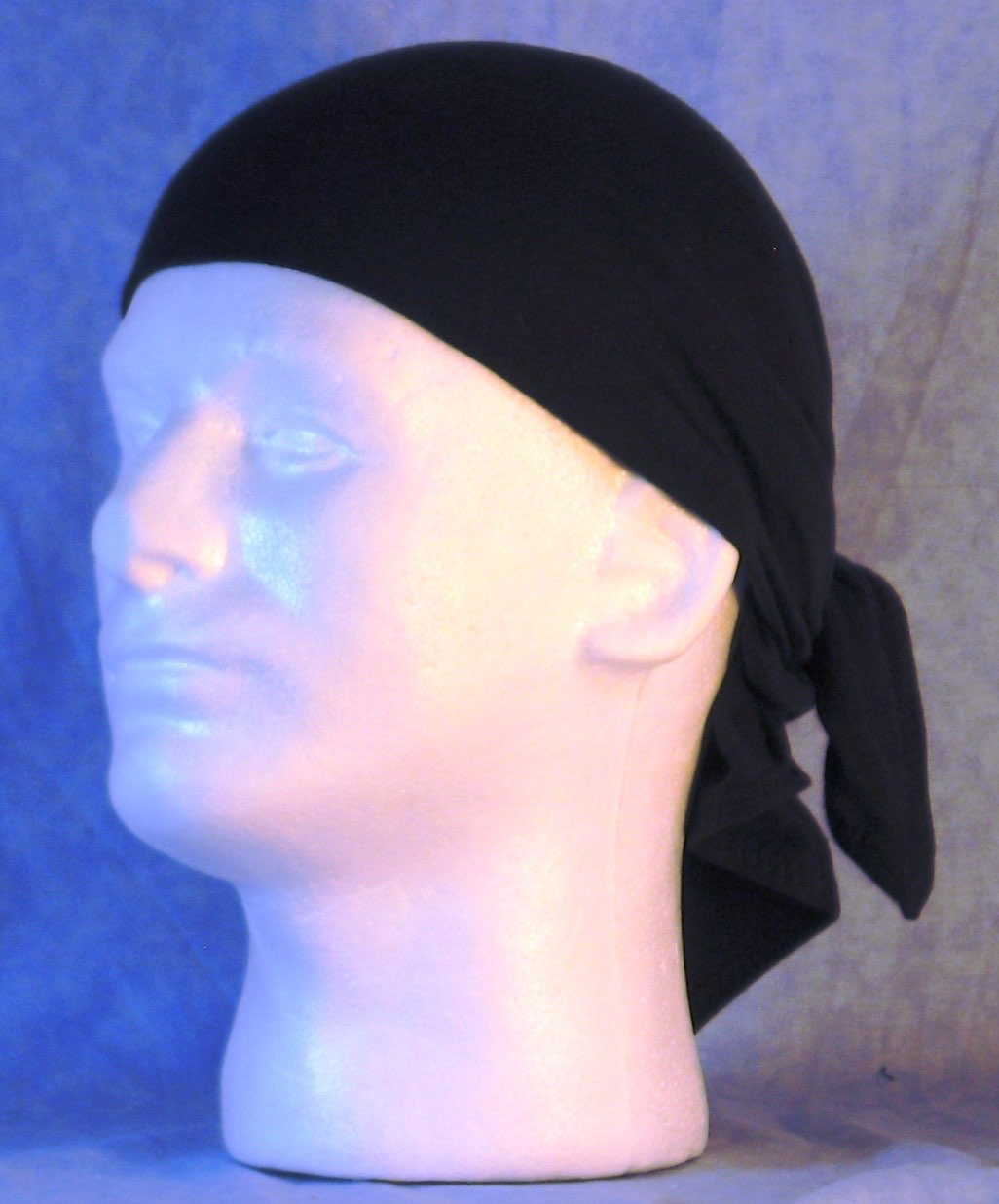 Head Wrap in Black Knit