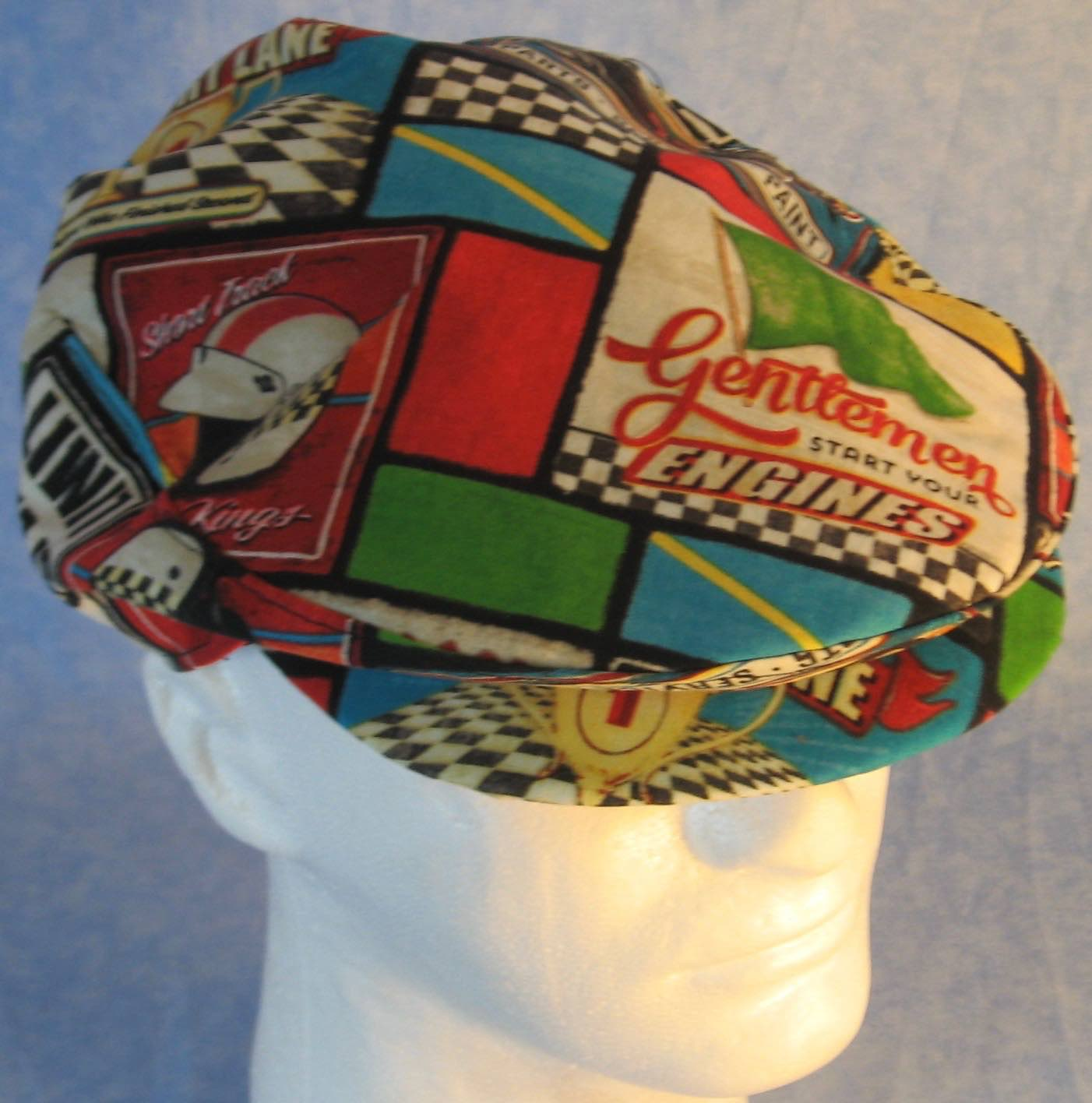 Flat Cap in Start Engines - Adult M-XL