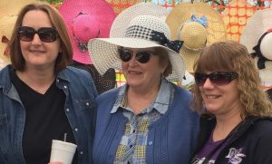 Mom and 2 Daughters in Hat