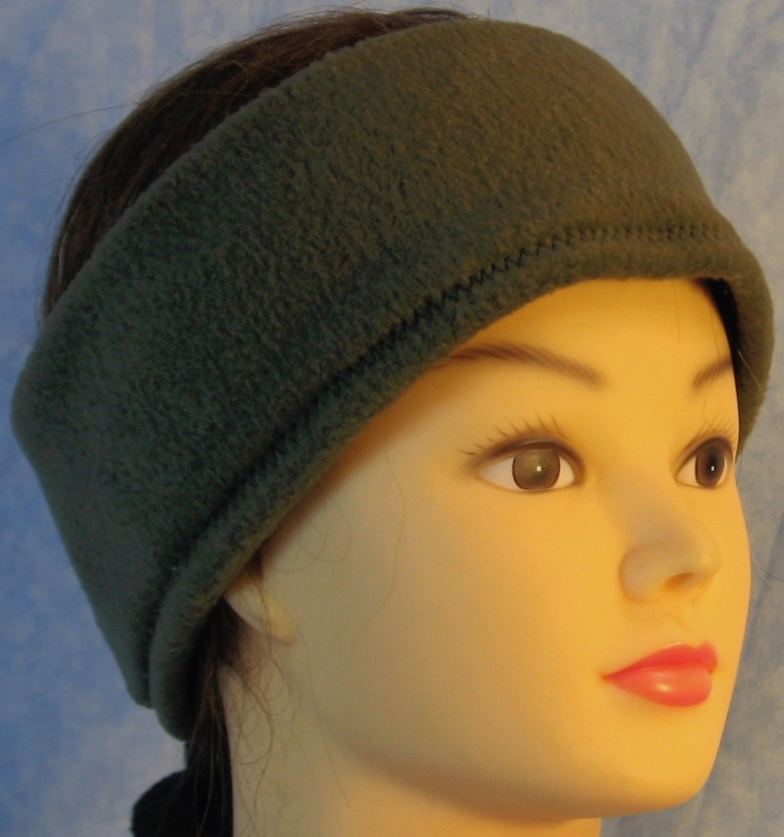 Ear Warmer in Olive-Adult S