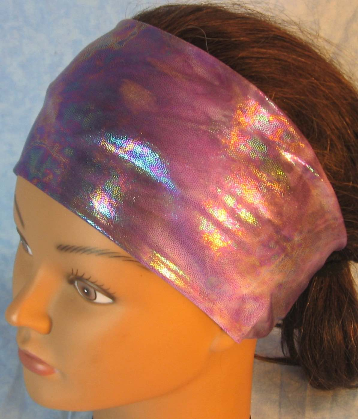 Headband-Purple Purple Oily Performance Knit-Youth L-XL