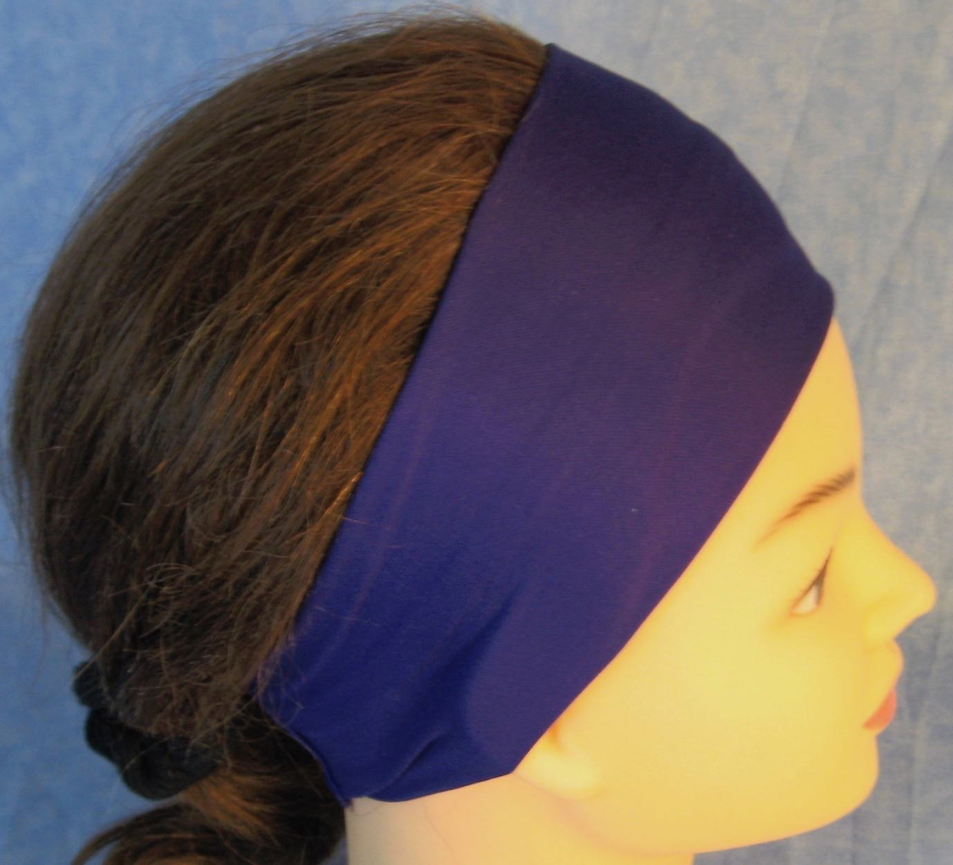 Headband-Purple Knit-Youth S-M