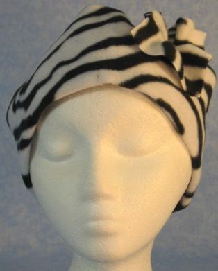 Cap Flower - Zebra