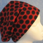 Long Hat in Ladybug-unrolled