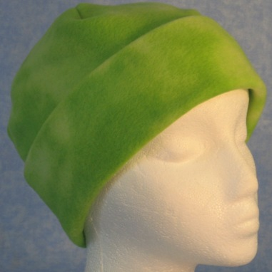 Long Hat in Lime Green