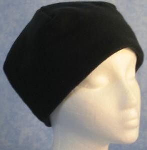 Short Cap in Black
