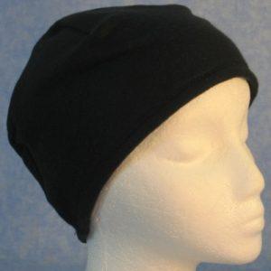 Short Cap in Black - Single Layer