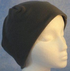 Short Cap in Medium Gray