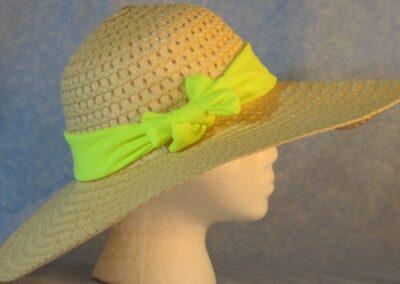 Wide Brim Hat Band-Yellow