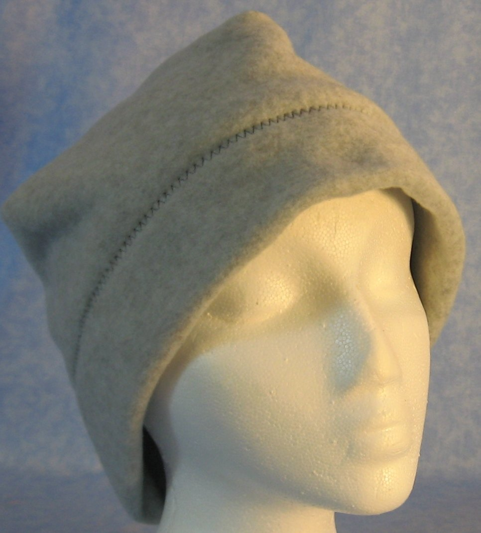 Beanie Band Cap in Light Gray-Adult 1XL