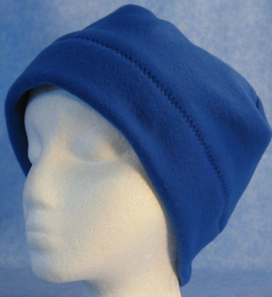 Beanie Band Cap in Royal Blue-Baby 12 Month