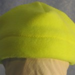 Band Cap in Fluorescent Yellow - Baby - front