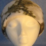 Long Hat in Winter Camo - rolled