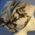 Long Hat in Winter Camo - unrolled