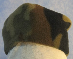 Cap in Olive Brown Camo - Baby - front