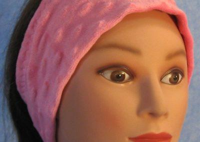 Ear Warmer in Pink Dimple