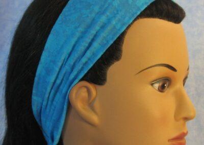 Headband in Aqua Burnout