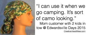 Brown Lizard Hair Bag for Camping - Edwardsville Days 2015
