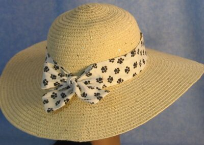Wide Brim Hat Band-Paws