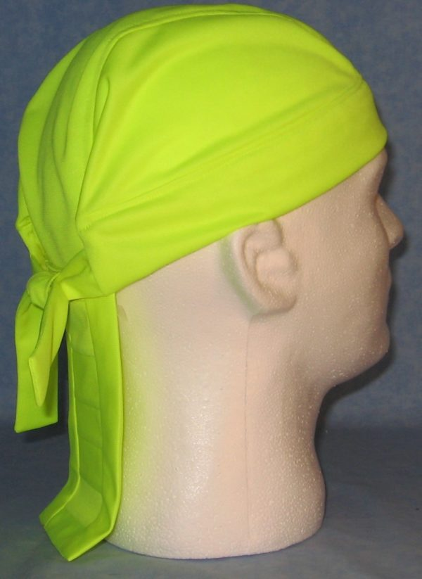 Do Rag in Fluorescent Yellow - back