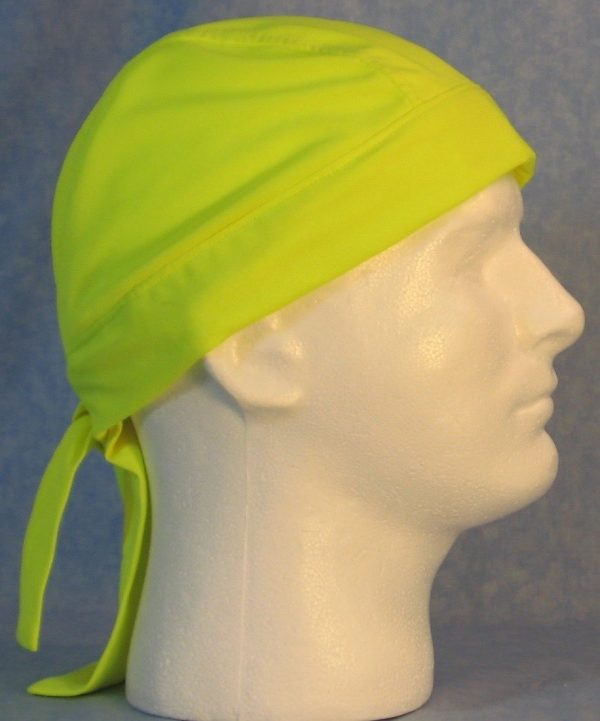 Do Rag in Fluorescent Yellow - side