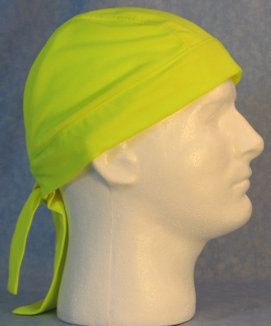 Do Rag in Fluorescent Yellow-Adult M-XL