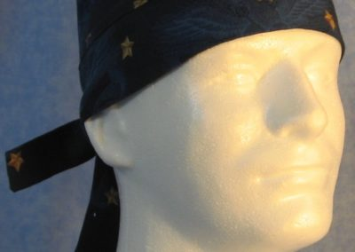 Do Rag in Navy Eagle Star - front