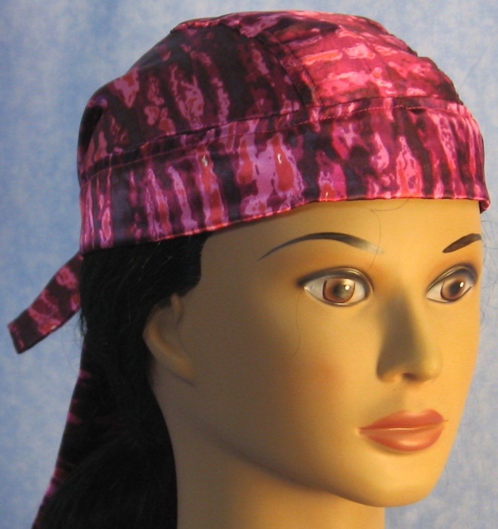 Do Rag in Oily Pink Purple-Adult M-XL
