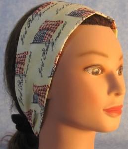 Headband in God Bless America Print