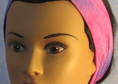 Headband in Pink Purple Glitter - front