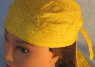 Do Rag in Yellow Gold Leaves - left front