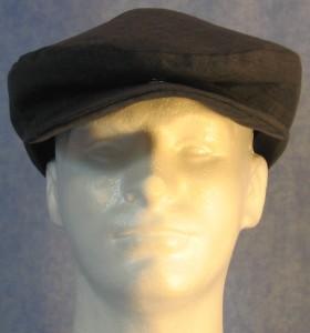 Flat Cap - Blue Stripe - male front