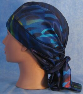 CH Blue Rain Drops Hair Stocking