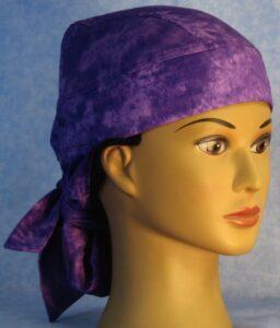 DH Hair Bag in Purple Splotchy