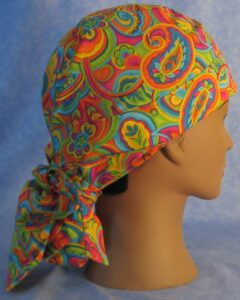 JP Bright Paisley Hair Stocking for Construction