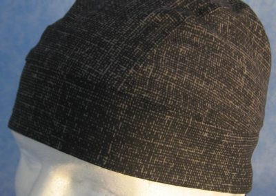 Do Rag in Black Gray Weave - closeup