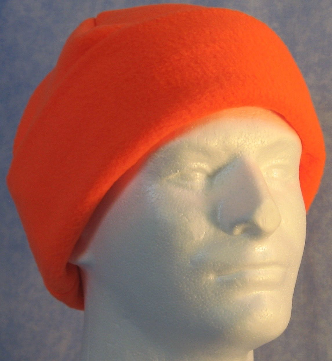Long Hat in Fluorescent Orange-Adult 2XL