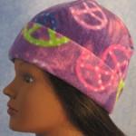 Long Hat in Purple Peace - rolled left 2