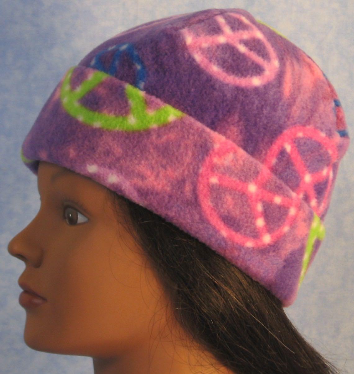 Long Hat in Purple Peace-Youth S-M