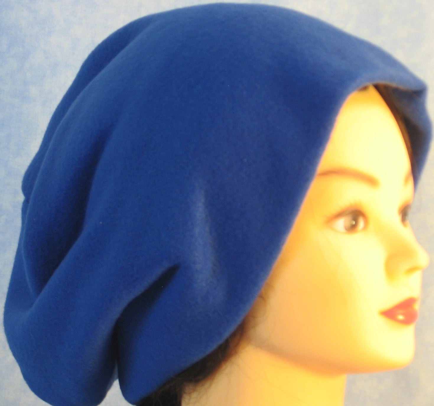 Long Hat in Royal Blue-Adult S