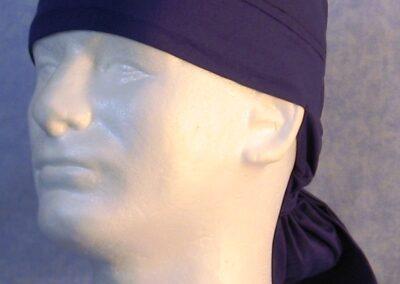 Hair Bag in Blue Royal - left front